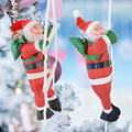 Рождественский Санта-Клаус, скалолазающая лестница, кукла с рождеством, детский подарок для дома 2021, Noel Navidad Kerst рождество, Декор