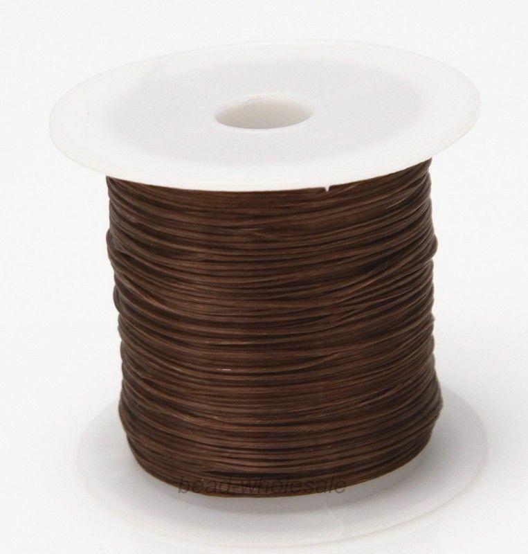 393 дюйма/рулон, крепкий эластичный шнур для бисероплетения с кристаллами, 1 мм, для браслетов, стрейчевая нить, ожерелье, сделай сам, для изготовления ювелирных изделий, шнуры, линия - Цвет: Color 22