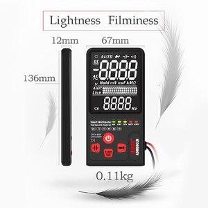 Image 4 - BSIDE multímetro Digital, probador analógico de pantalla EBTN, voltímetro DC AC, diodo de capacitancia, NCV Ohm Hz, indicador LED de voltaje en vivo