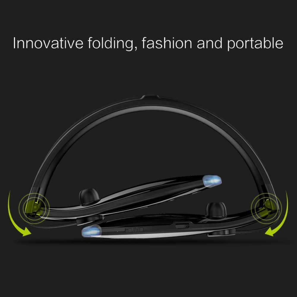 ZEALOT H1 Auriculares deportivos inalámbricos impermeables plegables auriculares Bluetooth portátiles con micrófono para el cuello