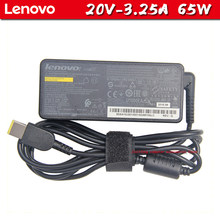 Used Lenovo Charger X240 G400 G40 Laptop Adapter 20V3.25A power cord T440S Thinkpad square