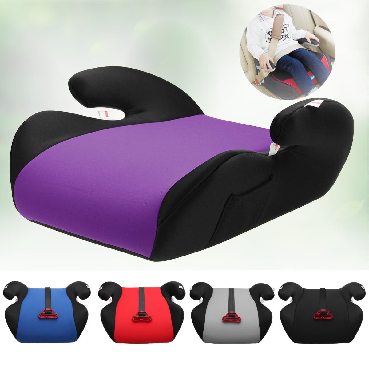 Многоцветное противоскользящее сиденье для автомобиля, безопасное, крепкое, для детей 6 12 лет| |   | АлиЭкспресс