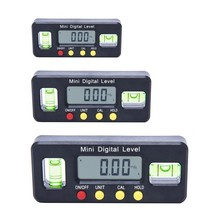 Ângulo magnético finder nível eletrônico caixa digital inclinômetro horizontal