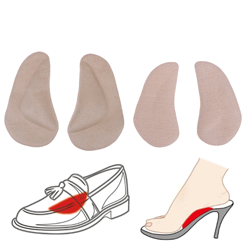 Foot Care Tools High Heel Cushion Pads 1Pair Anti Slip Insert Insoles for Shoes