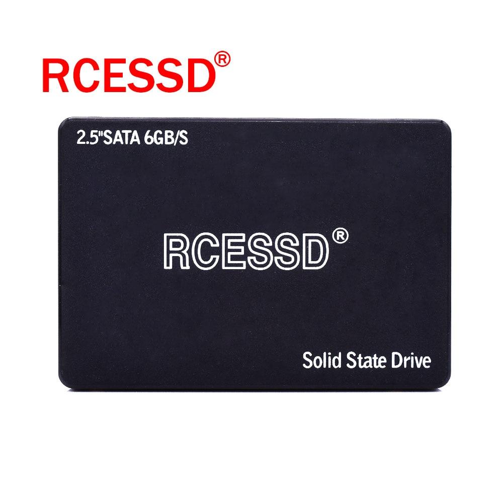 RCESSD HDD 2.5 SATA3 SSD Plastic 120GB SATA III 240GB SSD 480GB SSD Internal Solid State Drive For Desktop Laptop PC 512GB 256GB