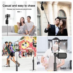 Image 5 - Handheld Hidden Bluetooth Tripod 3 in 1 Selfie Stick w/ Beauty light Extendable Selfie timer Fill Light for iPhone Samsung Phone
