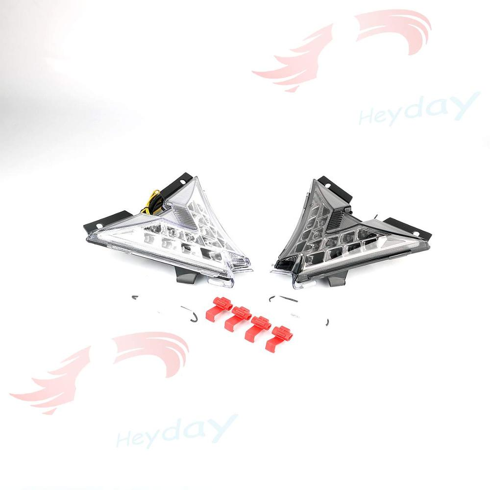 Motorcycle LED Taillight Integrated Turn Signals For Aprilia RSV4 Tuono V4 2010-2016 11 12 13 14 15