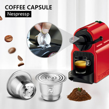 Coffee-Capsules Refillable Nespresso Inissia with Pods Icafilas Compatible