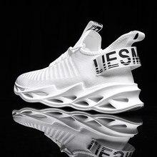 Chaussures de Sport pour hommes, baskets décontractées, à semelle extérieure Durable, d'entraînement, de course, grande taille