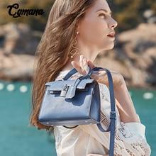 100% Cowhide Leather Bag 2019 Luxury Designer Lock Crossbody Bag For Women Shoulder Bags Ladies Small Handbags Mini Tote Bag