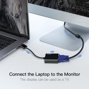 Image 5 - Baseus HDMI To VGAสายHDMI VGA Adapter 1080P HDMIชายหญิงVGA Converter Splitterสำหรับแล็ปท็อปPS4 Chromebook TV