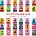 Серия 3 (181 до 210) карточка для скрещивания животных карта Amiibo ДЛЯ NS 3DS игры New Horizons Ankha Freya Kid Cat Villager Card