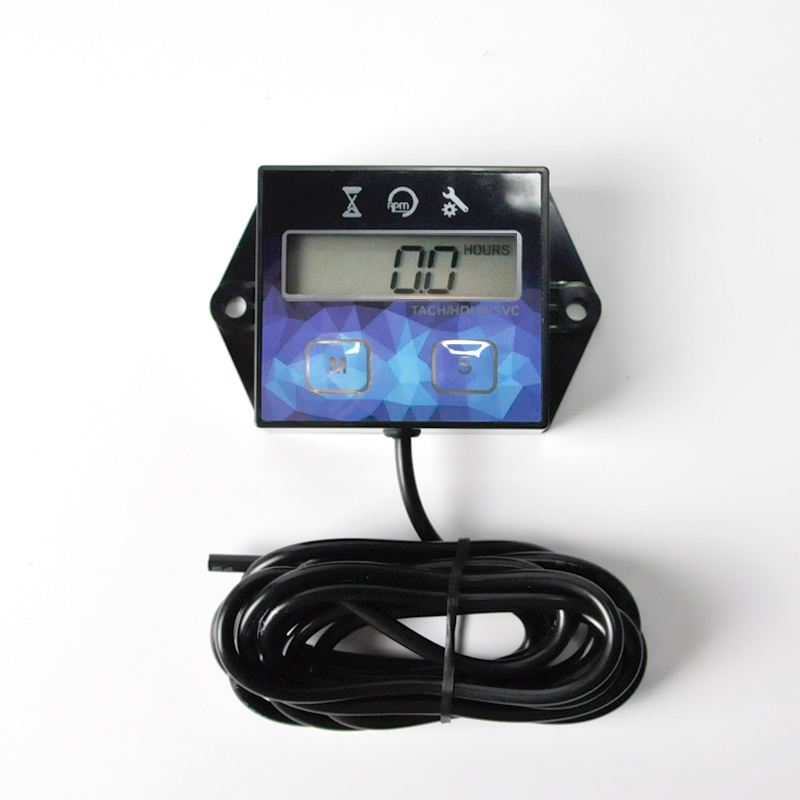 Hour Meter For Motorcycle Generators Lawn Mowers and other small engines USA!!