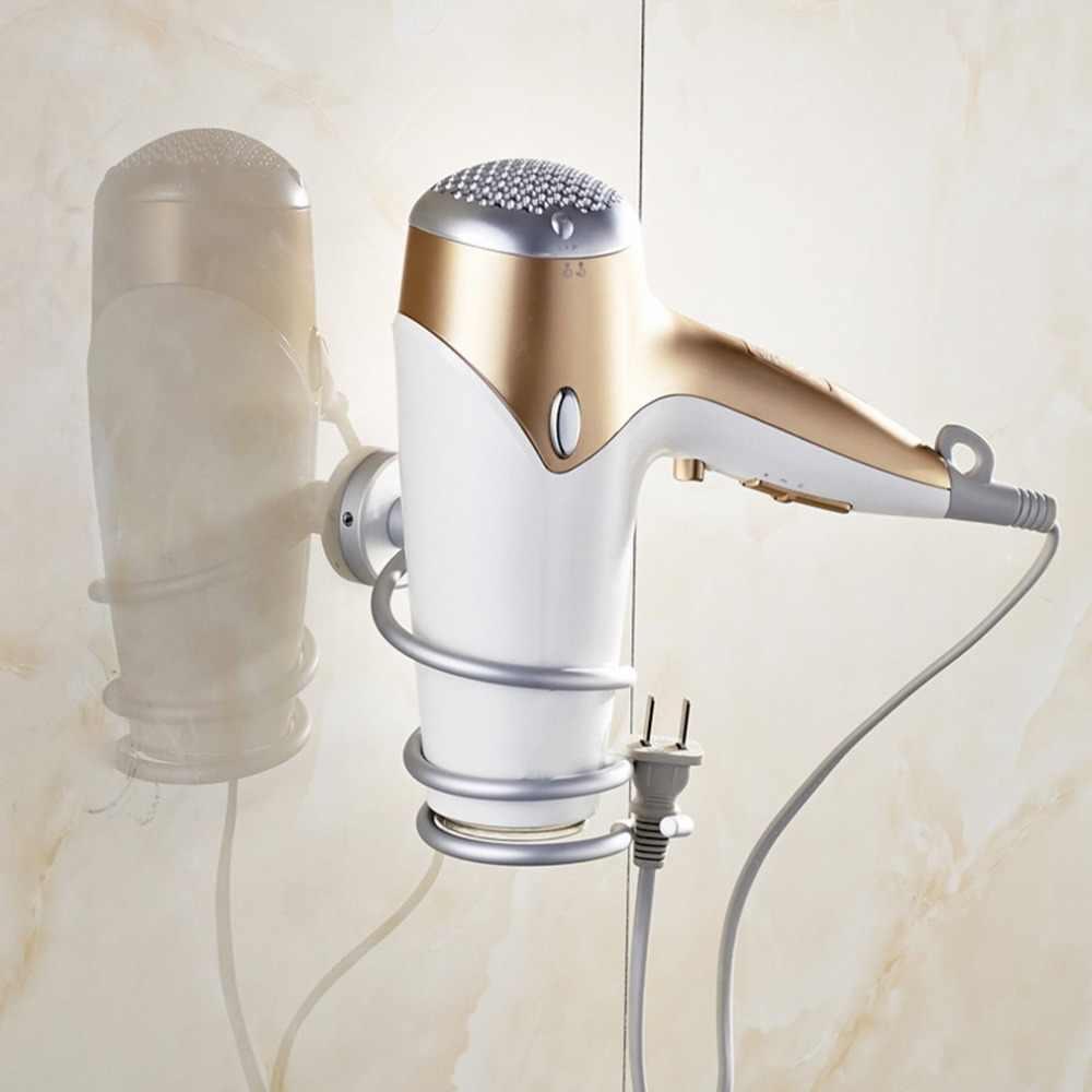 Горячая спиральная настенная сушилка для волос Органайзер стойка держатель