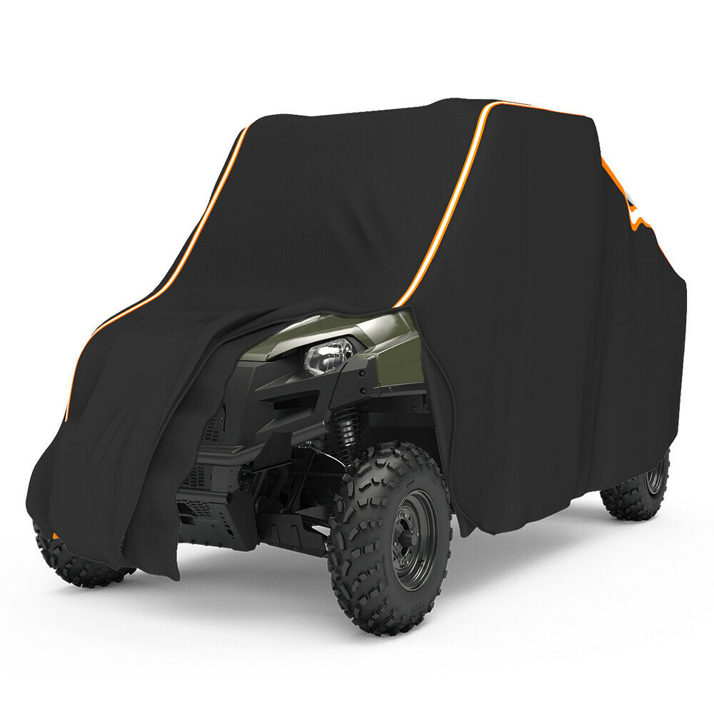 UTV Black Waterproof Utility Vehicle Storage Cover Side-by-Side SxS For Polaris Ranger 570 900 1000 RZR 900 Models 2014-2017