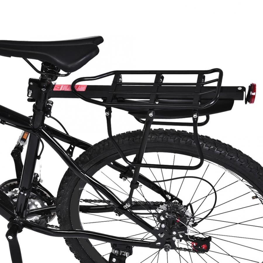 Bicycle Outdoor MTB Mountain Bike Rear Pannier Carrier Rack//Seat Post Tube Bag~