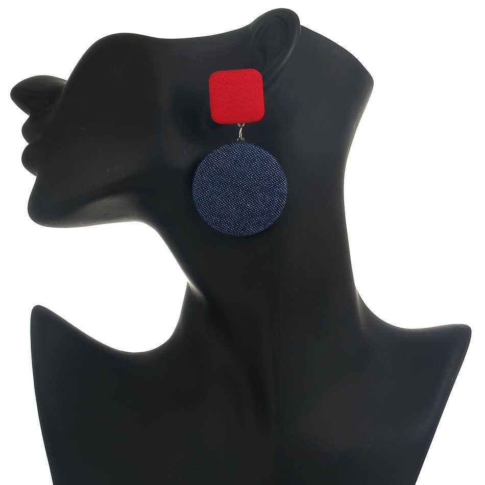 התאמה-ימין טרנדי עגילי עבור נשים ג 'ינס/תלייה/ארוך//הצהרה/זרוק/עגול/גיאומטרי עגיל תליון oorbellen brincos SP532
