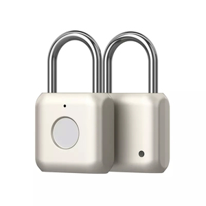 Image 2 - Youpin USB Rechargeable Smart Keyless Electronic Fingerprint Lock Home Anti theft Safety Security Lock Door Luggage Case Lock