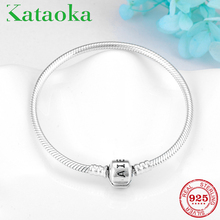 High Quality Authentic 925 Sterling Silver Original Flexible