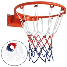 Basketball-Net Standard Nylon Three-Color Mesh-Replacement Thick-Thread Universal Durable