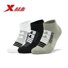 881339549018 Xtep mens socks 3-pairs/Lot short new breathable comfortable summer tube sports running