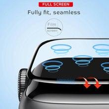Мягкое Защитное стекло для apple watch series 6 se 5 4 40 мм