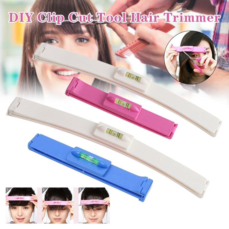 Clip Cut Tool Hair Trimmer Fringe Hair Cutting Barrettes Hairpins DIY Accurate For Home LDO99
