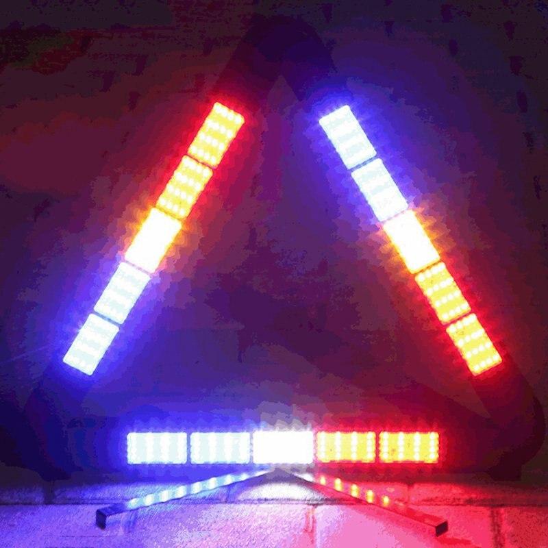 Traffic Warning Light LED Vehicle Mounted Versatile Foldable Emergency Highlight Distress Traffic Safety Warning Signs Light