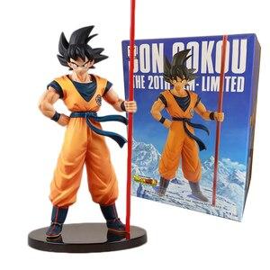 Image 3 - Figura de acción de Dragon Ball Z, modelo coleccionable en Pvc de 26cm de pelo plateado Ultra instinto de Goku Super Saiyan, No Goku, Gokui