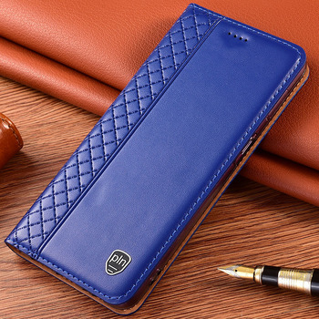 Case for ASUS ZenFone 5 ZE620KL Flip Plaid style Genuine Leather wallet Cover for ASUS 5Z ZS620KL Phone cases