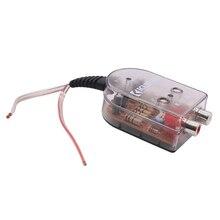 Универсальный усилитель сабвуфер автомобильный стерео стабильный динамик Выход Аудио преобразователи высокого и низкого уровня прочный сменный сигнал