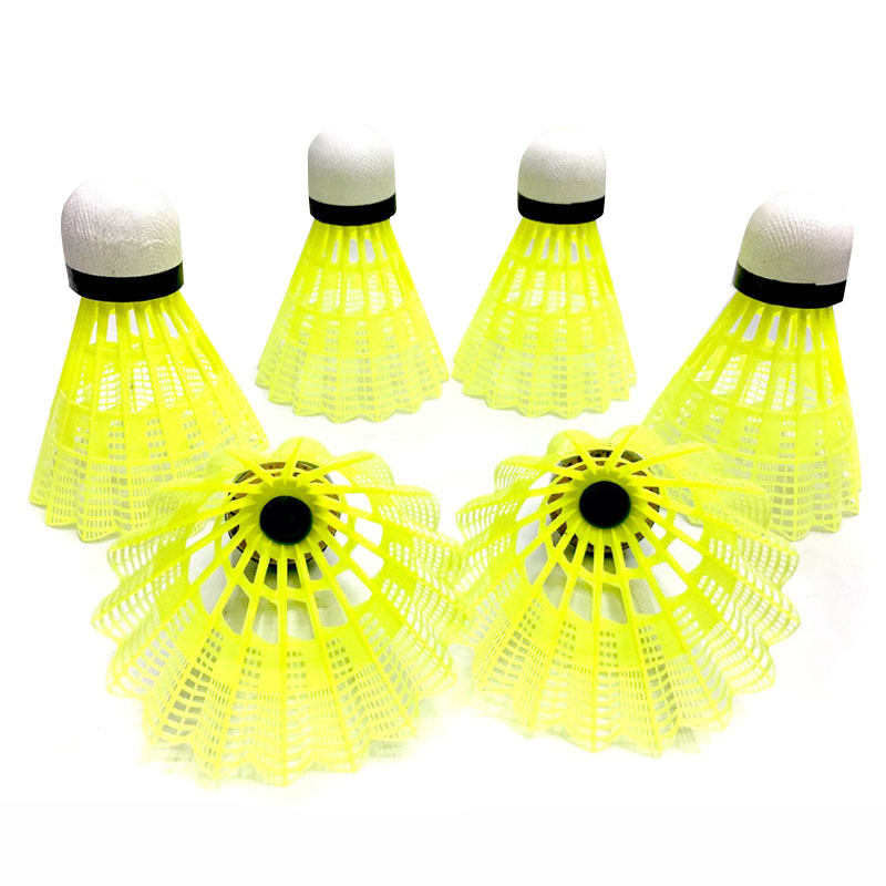 Nylon Badminton Shuttlecocks With Great Stability Durability Indoor Outdoor Sports Training Balls UND Sale