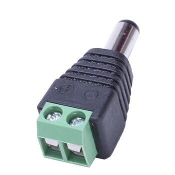 40 قطعة DC الطاقة كابل الإناث الذكور موصل قابس 5.5 مللي متر X 2.1 مللي متر ل كاميرا تلفزيونات الدوائر المغلقة
