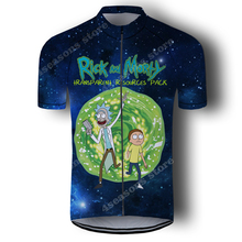 Rick And Morty Cycling Jersey men Bicycle Clothing Maillot Ciclismo Short Sleeve MTB Bike Jersey Road Cycling Shirt weimostar 2019 women cycling jersey short sleeve racing sport mtb bike jersey cycling shirt pro team bicycle clothing maillot