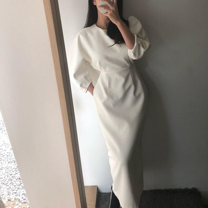 Летнее женское однотонное элегантное платье vestidos, деловые вечерние облегающие офисные женские платья