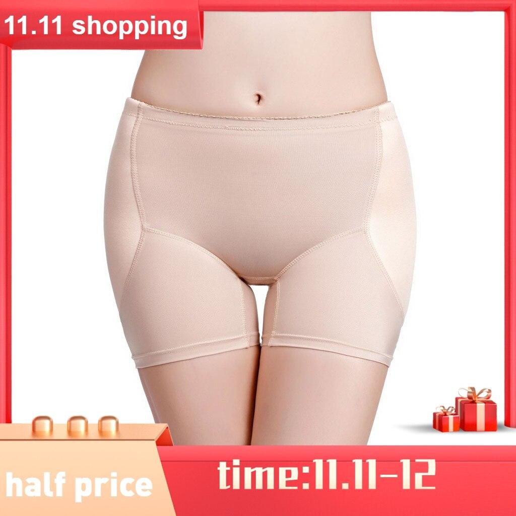 Women Body-Shaping Comforts Panties Bottom Fixed Sponge Lifting Buttock Body Shapeware Women's Intimates