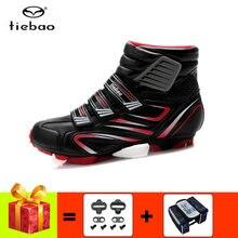Tiebao sapato ciclismo mtb велосипедная обувь мужские кроссовки