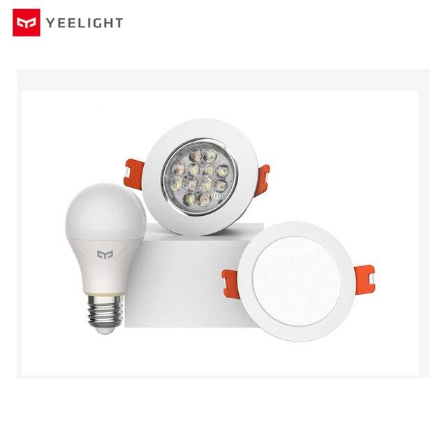 Yeelight bluetooth Mesh versión inteligente bombilla y downlight, el foco funciona con yeelight gateway a mi aplicación para hogares