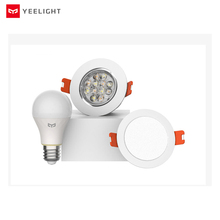 Yeelight بلوتوث شبكة نسخة مصباح إضاءة ذكي والنازل ، الأضواء تعمل مع بوابة yeelight لتطبيق mi المنزل