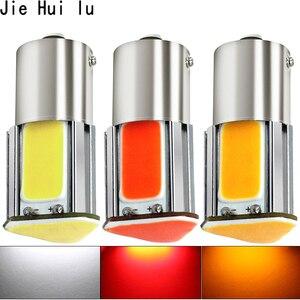 Image 1 - Bombilla led de 12v para coche, luz de freno para automóvil, bombilla led de estacionamiento intermitente trasero, 12v, p21w, bay15d, ba15s, P21/5W, 1156, 1157