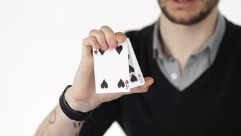 Fajne C A T S autorstwa Matthew wrighta magiczne sztuczki tanie i dobre opinie CN (pochodzenie) Unisex Jeden rozmiar Online instruction Nauka ŁATWE DO WYKONANIA Beginner Profesjonalne Dla magików ulica