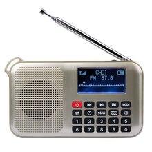 Mini leitor de música audio mp3 do orador da energia solar com luz de emergência do diodo emissor de luz
