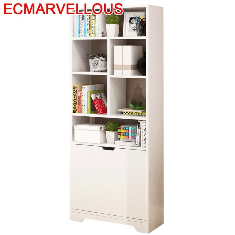 US $266.87 35% OFF Librero Libreria Wall Shelf Decoracion Meuble Maison  Mueble De Cocina Wood Retro Decoration Book Furniture Bookshelf Case-in ...