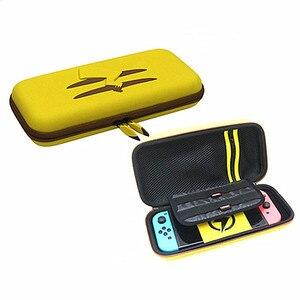 Image 5 - Dành Cho Máy Nintendo Switch Đựng NS Vàng Picachu Tăng Cường Túi Chống Sốc Ốp Lưng Cứng Túi Chống Nước