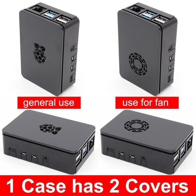 PMMA acrylic CASE BOX for Raspberry PI 4 Model B 1GB/2GB/4GB plastic enclosure housing shell cover of Raspberry PI 4 B PI4 4B
