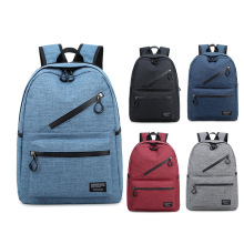 New fashion retro men and women outdoor canvas waterproof large travel backpack fashion backpack