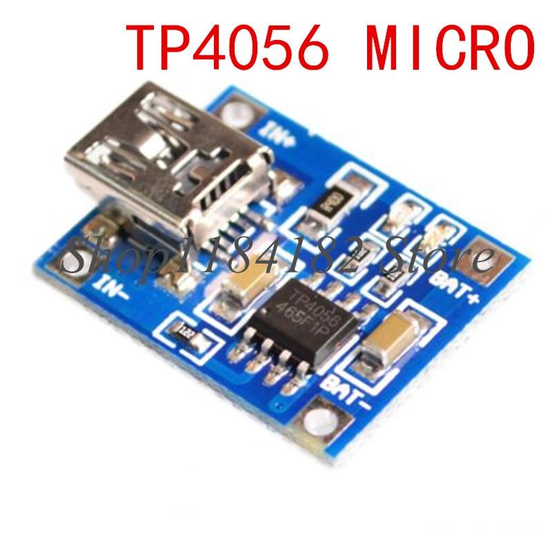 DIY Kit Micro USB 5 в 1 а 18650 TP4056 модуль зарядного устройства литиевой батареи + 600MA SB мобильный усилитель мощности плата D1mini ESP8266 18650