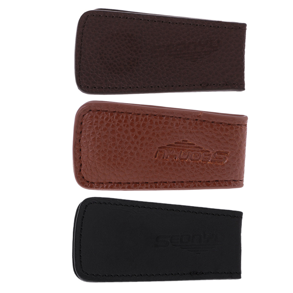 2019 Mens Leather Wallet Cash Clip Women's Metal Fine Cash Clip Money Clip Couple Holder Wallet Insurance For Money