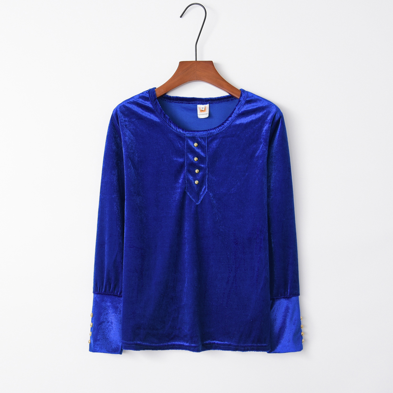 Button Blue 2020 New Design Hot Sale Hoodies Sweatshirts Women Casual Kawaii Harajuku Sweat Girls European Tops Korean
