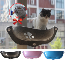 Hot Sale Pet Hammock Beds Bearing 20kg Cat Window Lounger Suction shelf Comfortable Ferret Bed